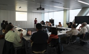 1st Active Ageing and Mobile Technologies Open workshop held in Barcelona.