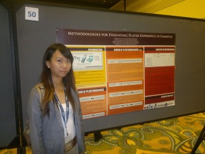 Kimberly presenting in HCII 2011