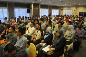 Audience at UX Awareness Talk.