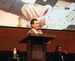 Dr Khong CW was invited to speak at the World Innovation Forum (WIFKL2013) at KLCC in Kuala Lumpur.